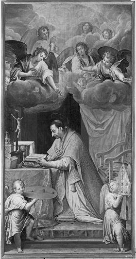 Der hl. Karl Borromäus im Gebet