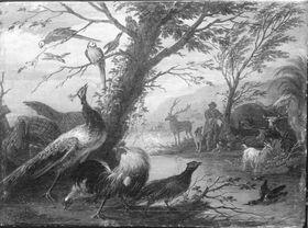 Orpheus bezaubert die Tiere