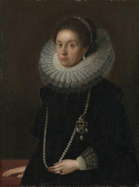 Bildnis der  Elisabeth Renata von Lothringen, erste Gemahlin des Kurfürsten Maximilian I. von Bayern (1574-1635)