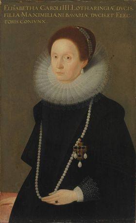 Bildnis der Elisabeth von Lothringen (1574-1635), erste Gemahlin des Kurfürsten Maximilian I. von Bayern