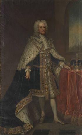 König Georg II. von England (Krönungsporträt)