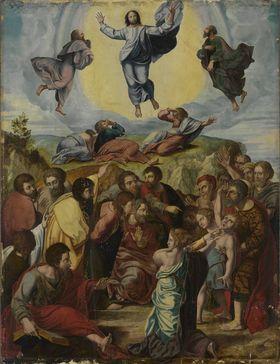 Verklärung Christi (Kopie nach Raffael)