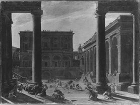 Architektur mit Bethlehemitischem Kindermord