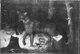 Siegreicher Wolf