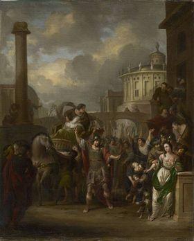 Die getötete Verginia wird durch die Straßen Roms geführt