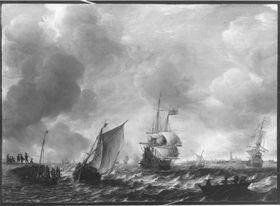 Marine bei Vlissingen