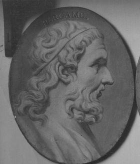 Pergamos, griechischer Heros, 4. Jh. v. Chr.