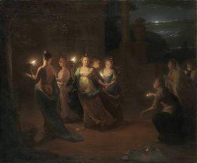 Die fünf klugen und die fünf törichten Jungfrauen