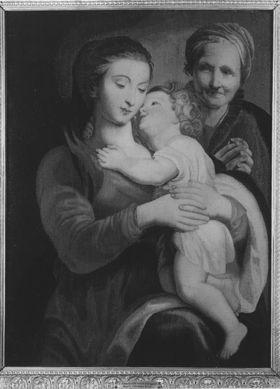 Maria mit Kind und der hl. Anna
