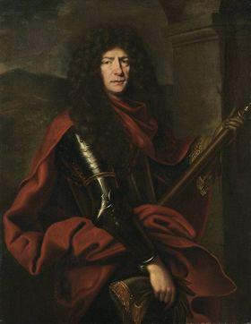 Bildnis des Christian II., Pfalzgrafen von Zweibrücken-Birkenfeld (1637-1717)