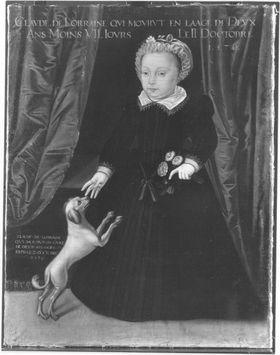 Claudia, Tochter Karls III. von Lothringen