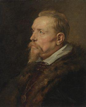 Brustbild eines Mannes der Familie Van den Wijngaert