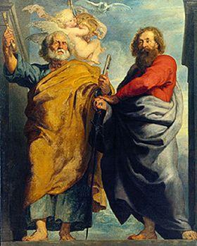 Die Apostel Petrus und Paulus