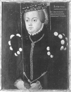 Bildnis der Judith von Schellenberg