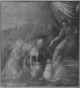 Coriolan lässt sich von seiner Familie bereden