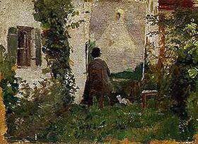 Maler im Grünen