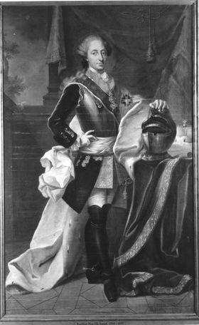 Bildnis des Kurfürsten Maximilian III. Joseph von Bayern