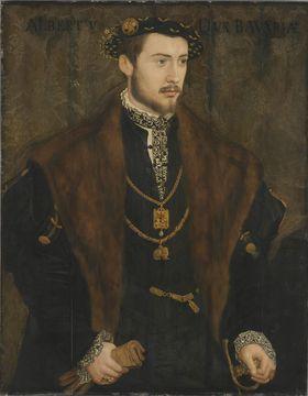 Albrecht V., Herzog von Bayern als Erbprinz
