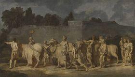 Triumphzug Alexanders des Großen: Zug der Opferstiere (Folge 10/12)