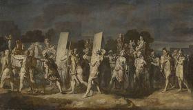 Triumphzug Alexanders des Großen: Aufführung des Beutegutes (Folge 2/12)