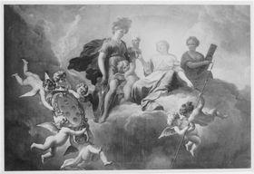 Apotheose der Maria Anna Luisa de' Medici