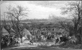 Das Lager vor Cambrai, 1677