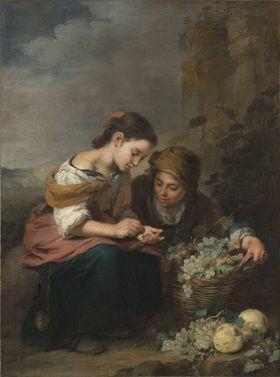 Die kleine Obsthändlerin