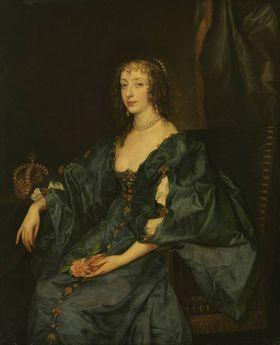 Königin Henriette Maria von England