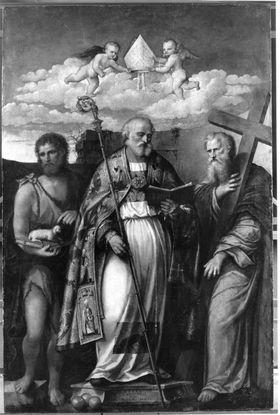Hll. Nikolaus von Bari, Johannes d. T. und Philippus