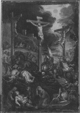 Kreuzigung Christi (Kopie nach dem Altarbild der Münchner Augustinerkirche)