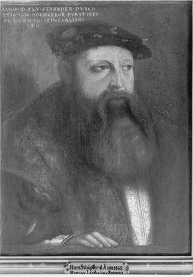 Herzog Ludwig X. von Bayern