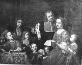 Bildnis der Familie des Künstlers
