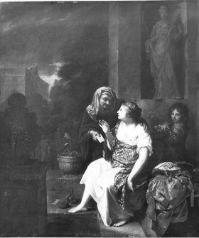 Bathseba erhält den Brief König Davids