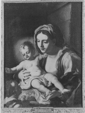 Maria mit Johannes- und Jesusknaben