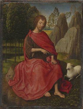 Johannes der Täufer (Rückseite: Totenkopf)
