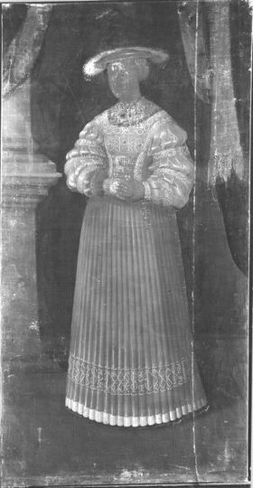 Susanna von Brandenburg, Gemahlin Ottheinrichs (Seitenverkehrte Kopie nach Inv.-Nr. 2450)