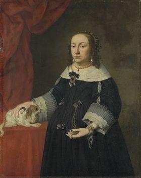 Bildnis der Anna Katharina Konstanze von Polen, Gemahlin des Pfalzgrafen Philipp Wilhelm von Neuburg (1619-1651)
