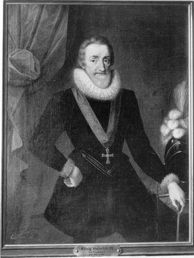 König Heinrich IV. von Frankreich (1553-1610)