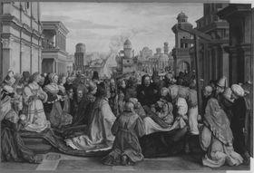 Historienzyklus: Kreuzauffindung der hl. Helena