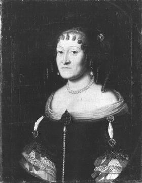 Bildnis der Elisabeth Dorothea von Sachsen-Gotha-Altenburg, Langräfin von Hessen-Darmstadt, zweite Gemahlin von Landgraf Ludwig VI. (1640-1709)