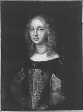 Bildnis der Landgräfin Elisabeth Amalie von Hessen, Gemahlin des Kurfürsten Philipp Wilhelm von Pfalz-Neuburg (1635-1709) (?)
