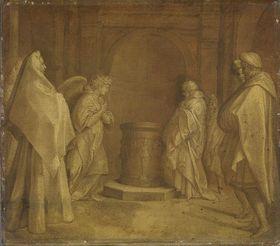 Verkündigung der Geburt des Johannes