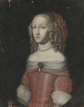 Bildnis der Landgräfin Auguste Philippine von Hessen-Darmstadt (1643-1672)