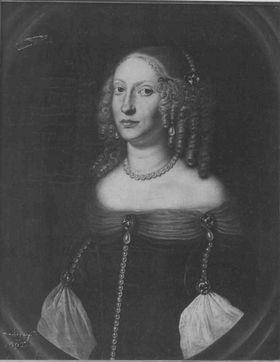 Bildnis der Sophia Eleonore von Hessen-Darmstadt, Landgräfin von Hessen-Homburg (1634-1663)