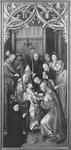 Kaisheimer Altar: Beschneidung Christi