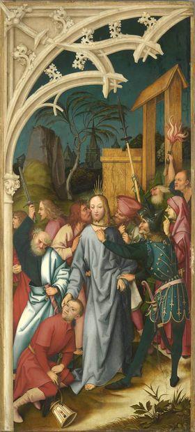 Kaisheimer Altar: Gefangennahme Christi