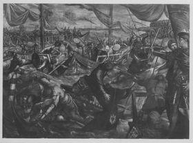 Der Gonzaga-Zyklus, Ludovico Gonzaga besiegt die Venezianer auf der Etsch bei Legnago