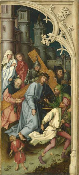 Kaisheimer Altar: Kreuztragung Christi
