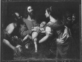 "Christus segnet die Kinder (""Lasset die Kinder zu mir kommen"")"
