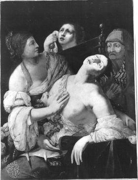 Tod der Lucretia (?)